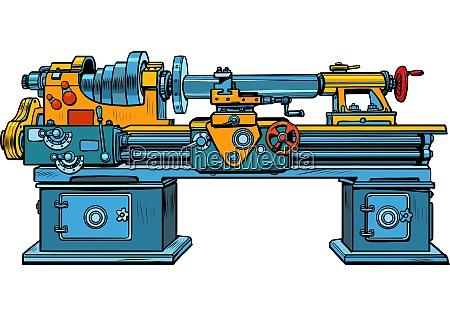 drehmaschine industrielle mechanismus geraetemaschine