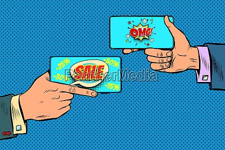 rabatte online handel verkauf geschaeft online