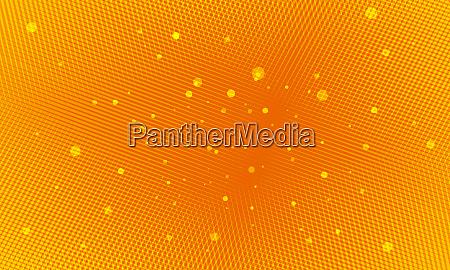 orange pop art hintergrund