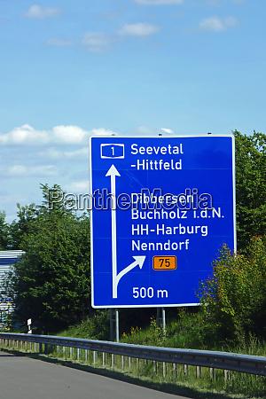 bundesautobahnausfahrt seevetal hittfeld dibbersen
