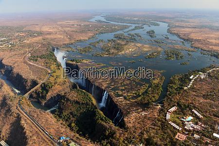 victoria falls sambezi simbabwe