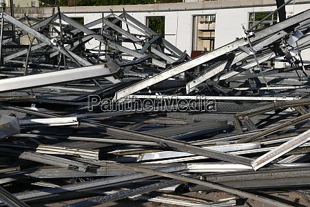 abbruch metall stahl abriss recycling trennen