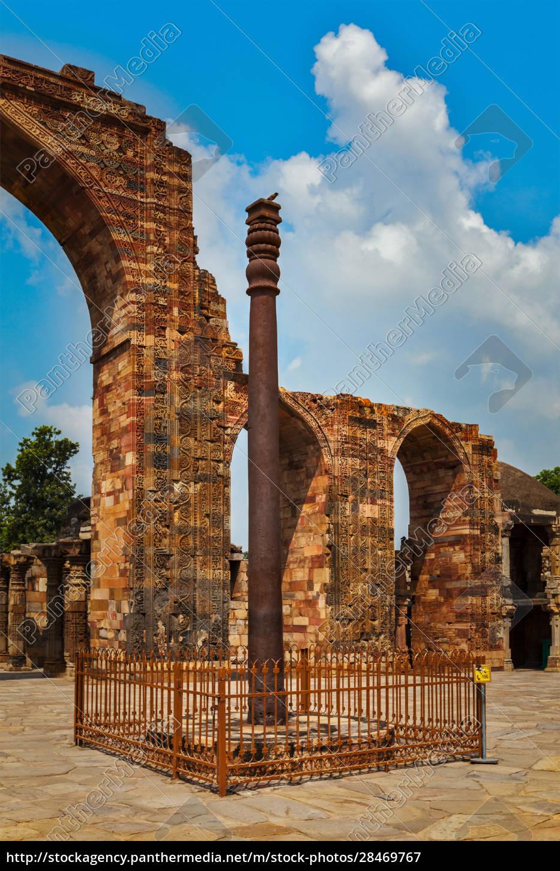 iron, pillar, in, qutub, complex - 28469767