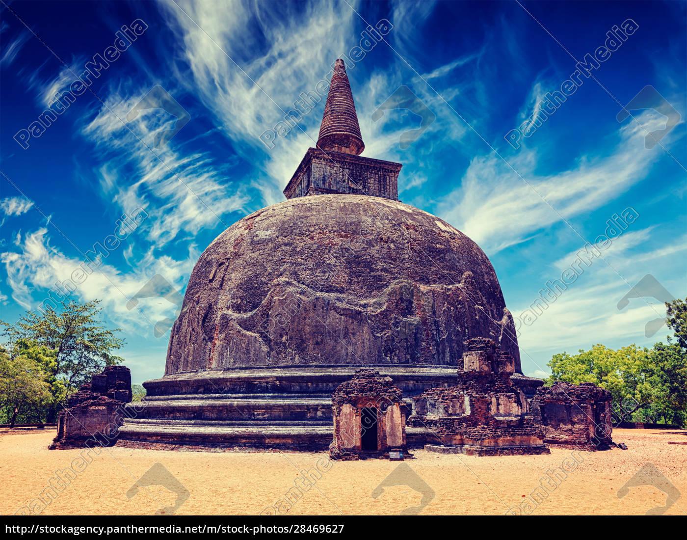 kiri, vihara, -, ancient, buddhist, dagoba - 28469627