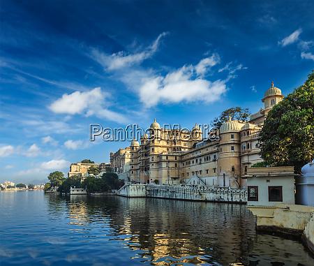 city, palace., udaipur, , india - 28471416