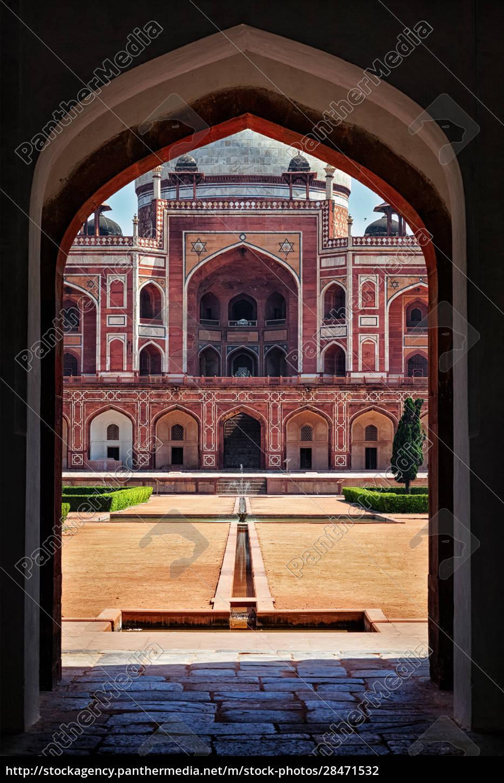 humayuns, grab., delhi, indien - 28471532