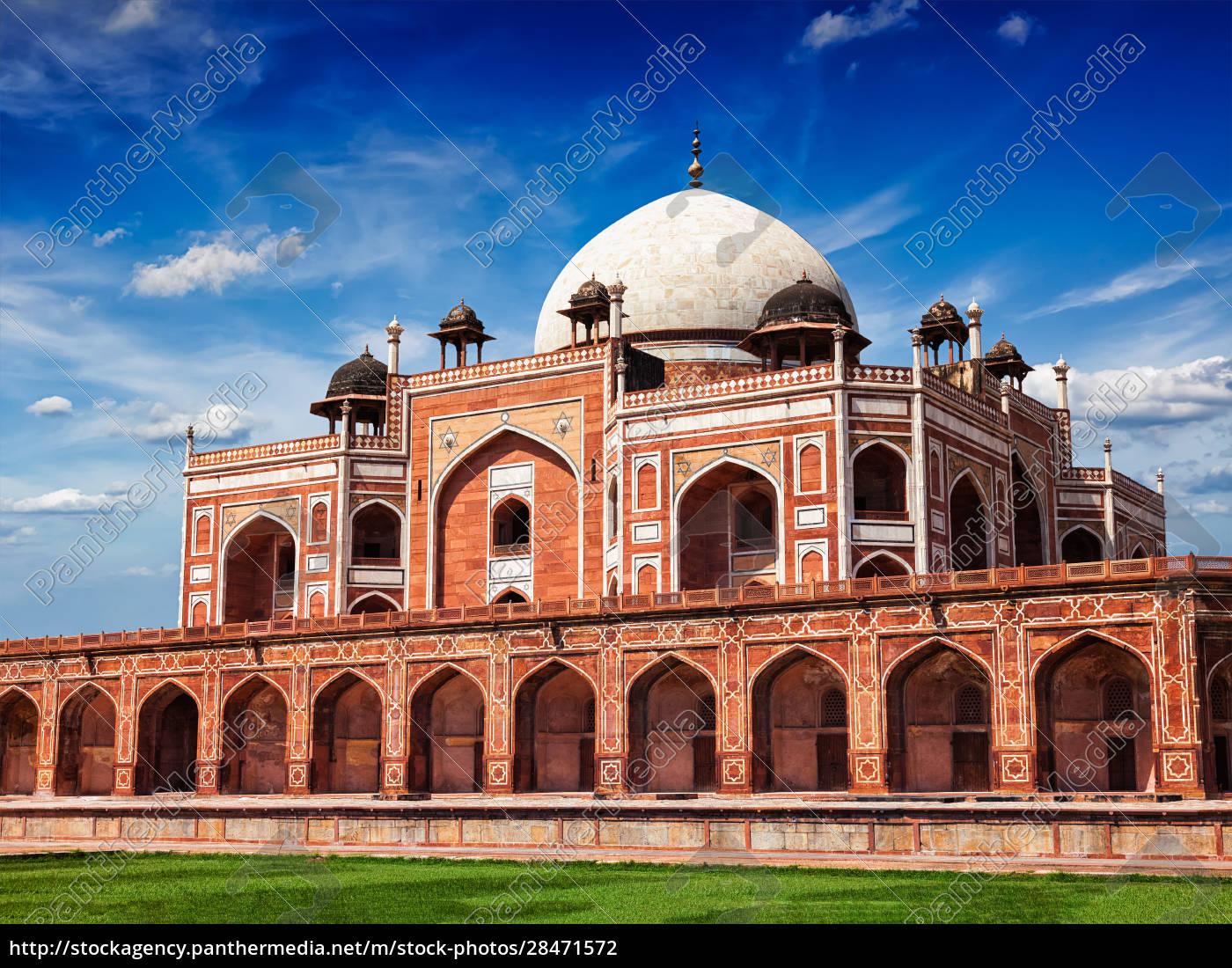 humayuns, grab., delhi, indien - 28471572