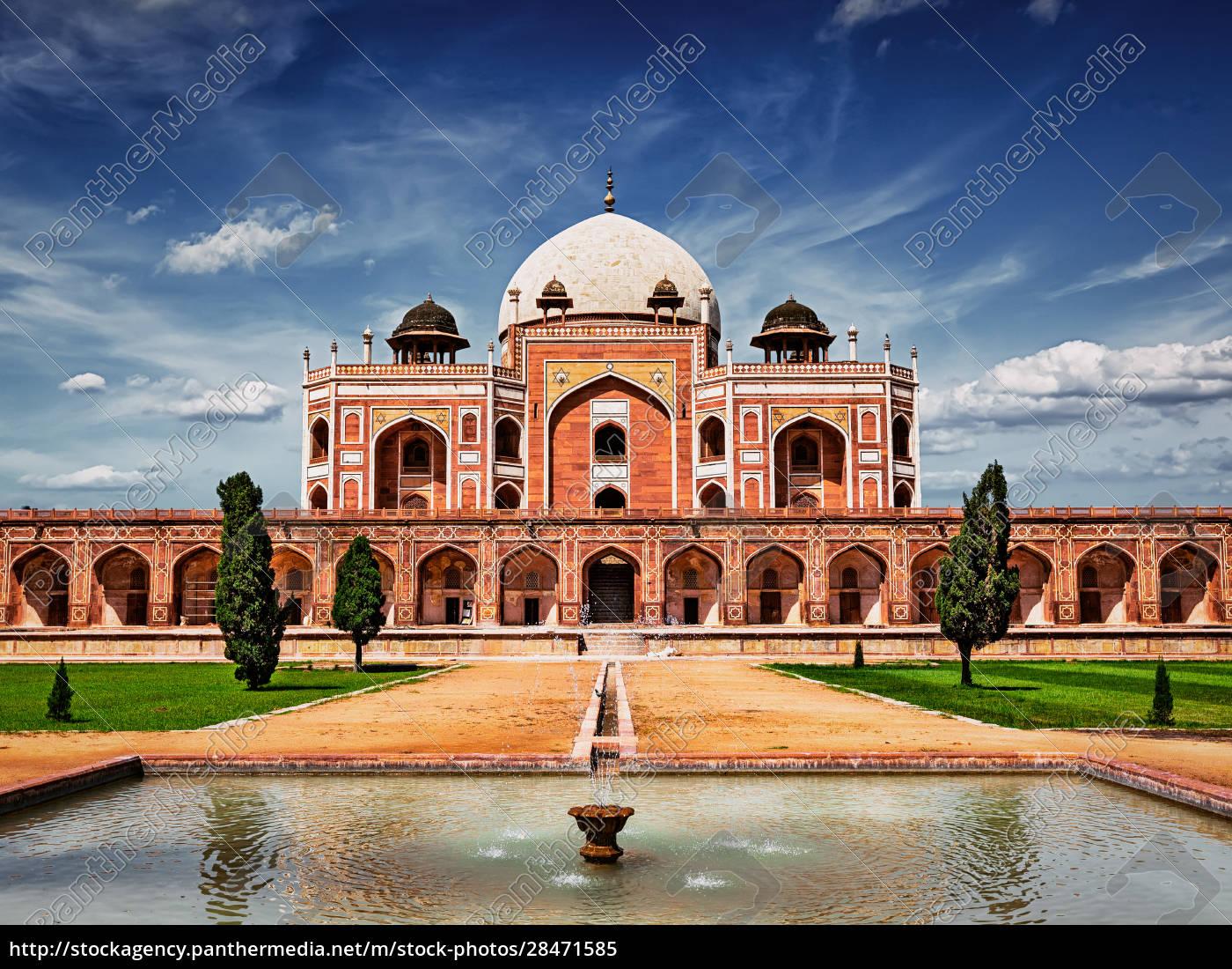 humayuns, grab., delhi, indien - 28471585
