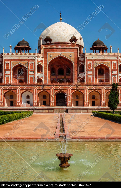 humayuns, grab., delhi, indien - 28471627