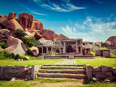 ruins, in, hampi - 28471646