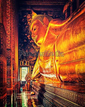 liegender buddha thailand