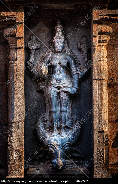 hindu, göttin, durga, mahisaurmardini, bild - 28472481