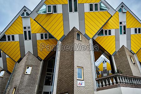 wuerfelhaeuser in rotterdam niederlande