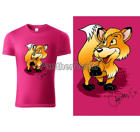 pink child t shirt design with