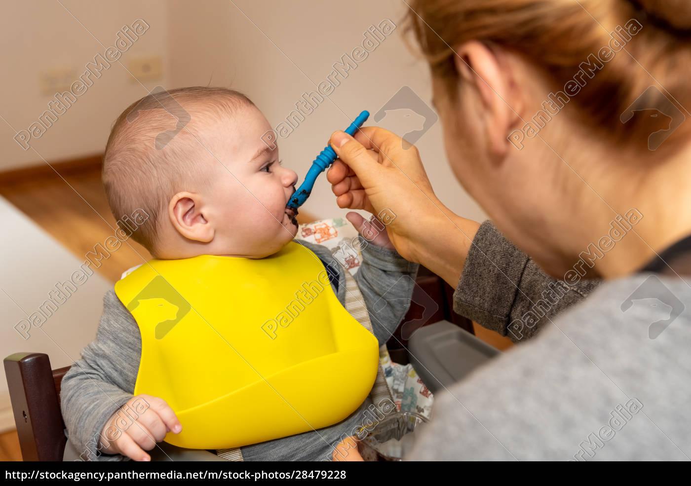 adorable, little, baby, boy, in, feeding - 28479228