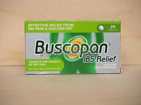 buscopan ibs relief pillen in london