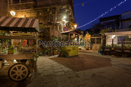 newly recovered san berillo pedestrian district