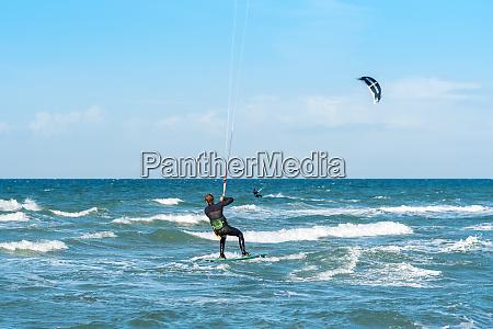 segeln windsurfen und kiteboarden die insel