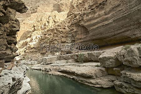wadi shab einer der beruehmtesten und