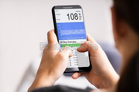 glucose continuous sugar check smart monitor