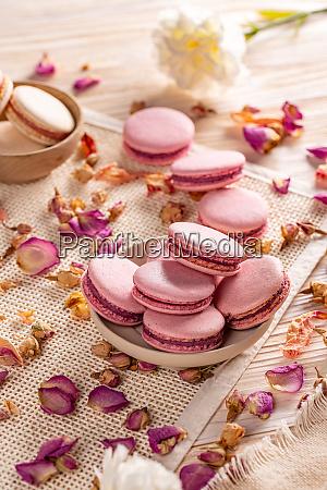 franzoesisch macarons dessert