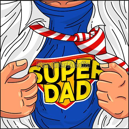 vatertag super papa