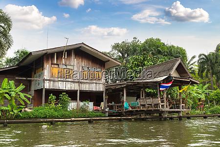 leben, entlang, des, flusses, in, bangkok, thailand - 28532773
