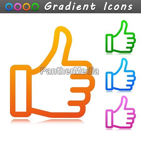 vector illustration of good symbol icon