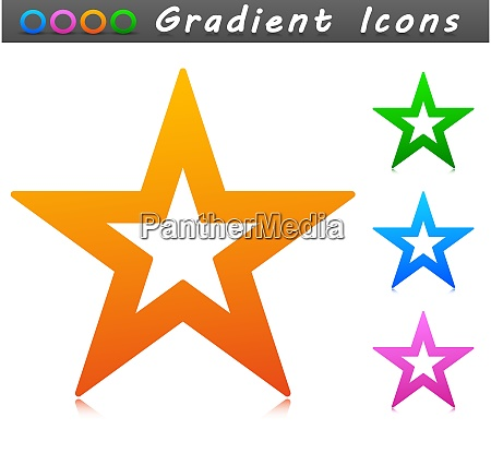 vector star symbol icon design