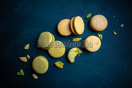 franzoesische macarons cookies