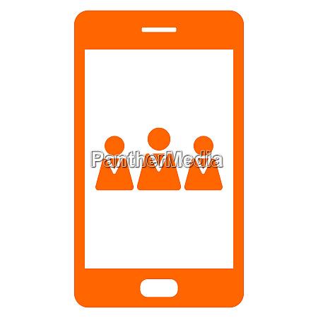 team und smartphone