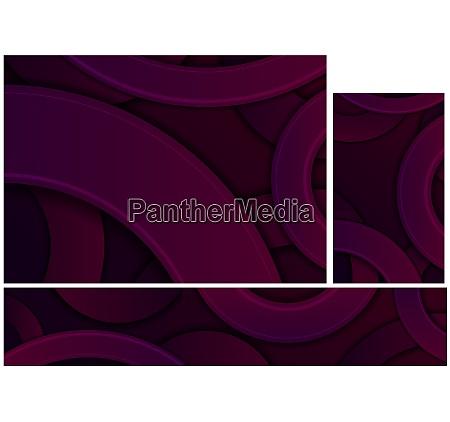 dark purple abstract geometric background