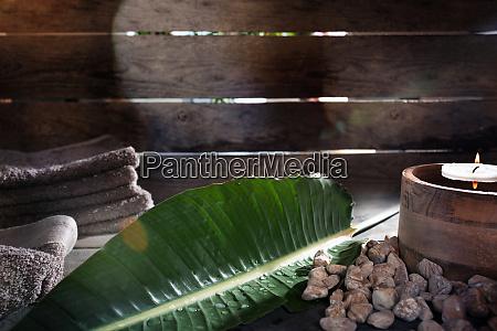 schoene wellness dekoration