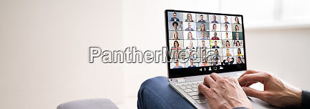 work from home video conference call