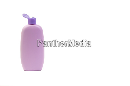 baby lotion oder shampoo flasche isoliert