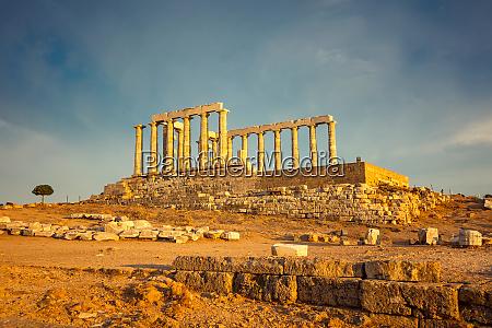 ruinen des poseidon tempels