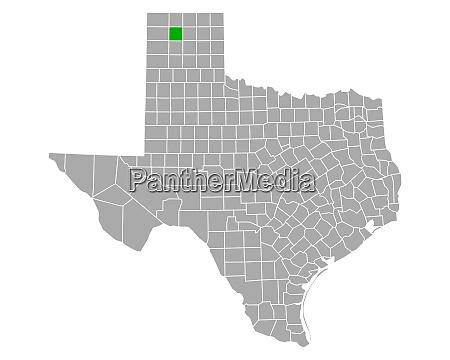 karte von moore in texas