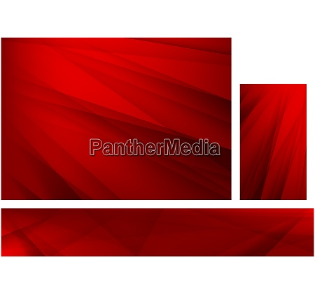 abstract red background with stripes set