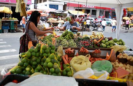 strassenhandel in der nachbarschaft von cajazeiras