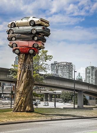 schrottwagen in vancouver kanada