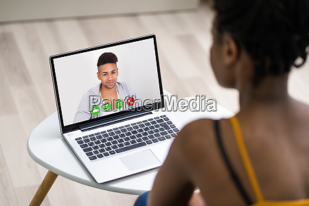 african american video conference call