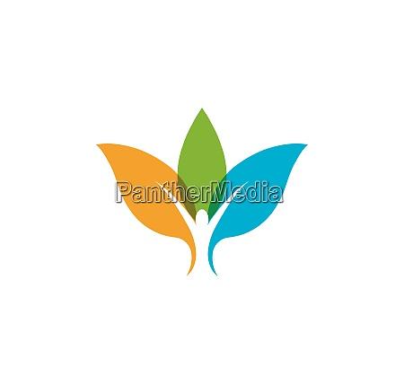gesundes leben medizinische logo vorlage vektor