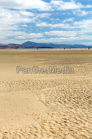 beach playa de sotavento kanarische insel