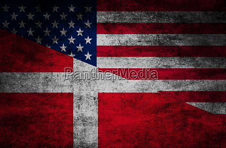 country, relations., flags, on, textured, background - 28611368