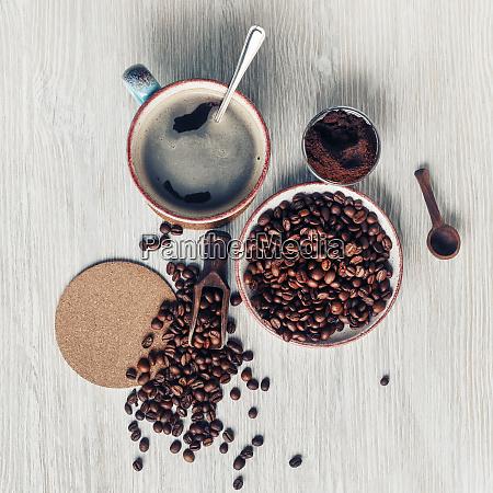 kaffee stilles leben machen