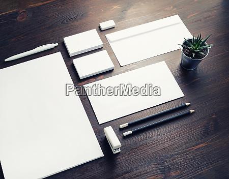 briefpapier mock up