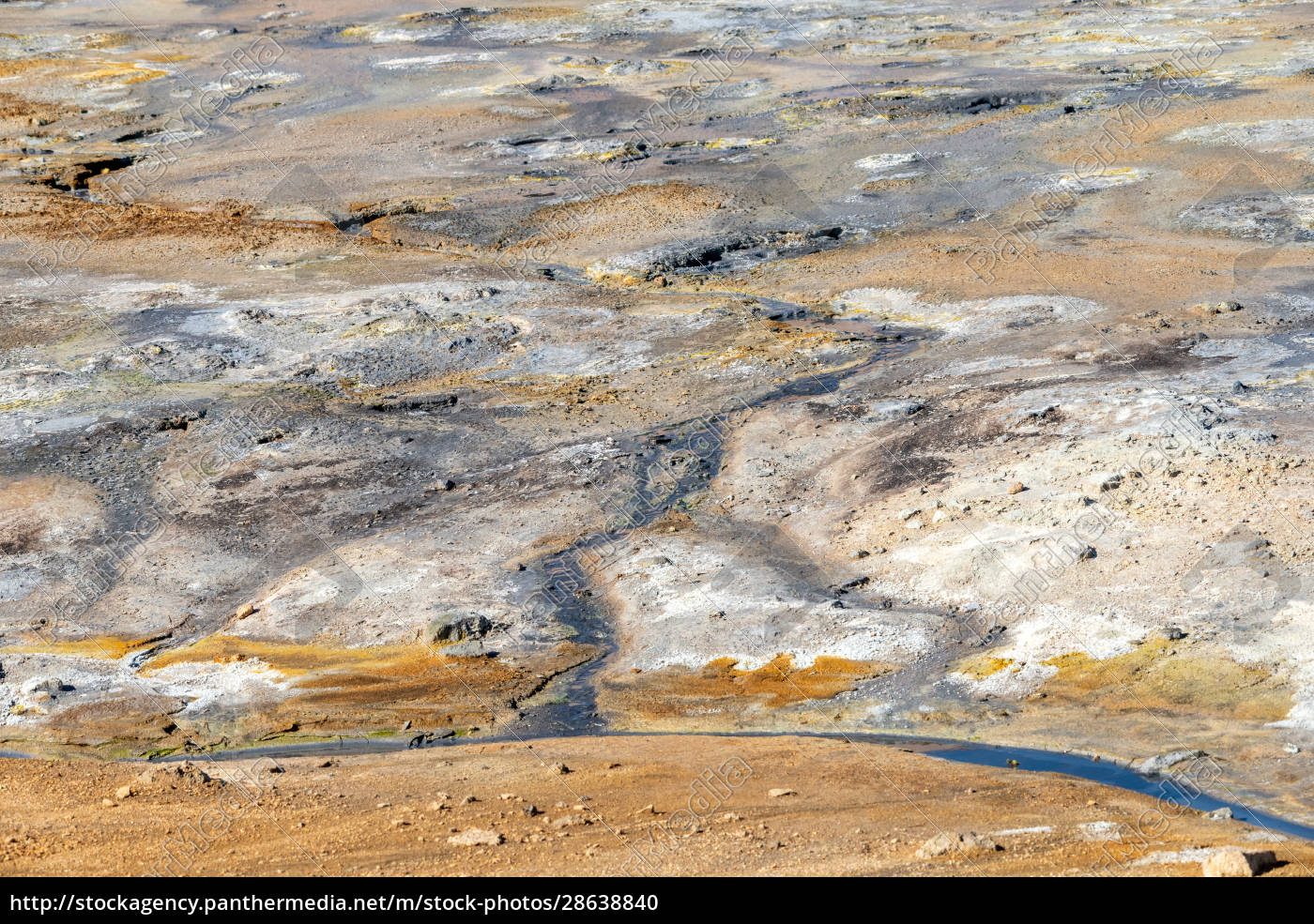 geothermal, region, of, hverir, in, iceland - 28638840