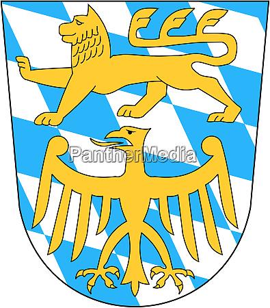 wappen des landkreises starnberg deutschland
