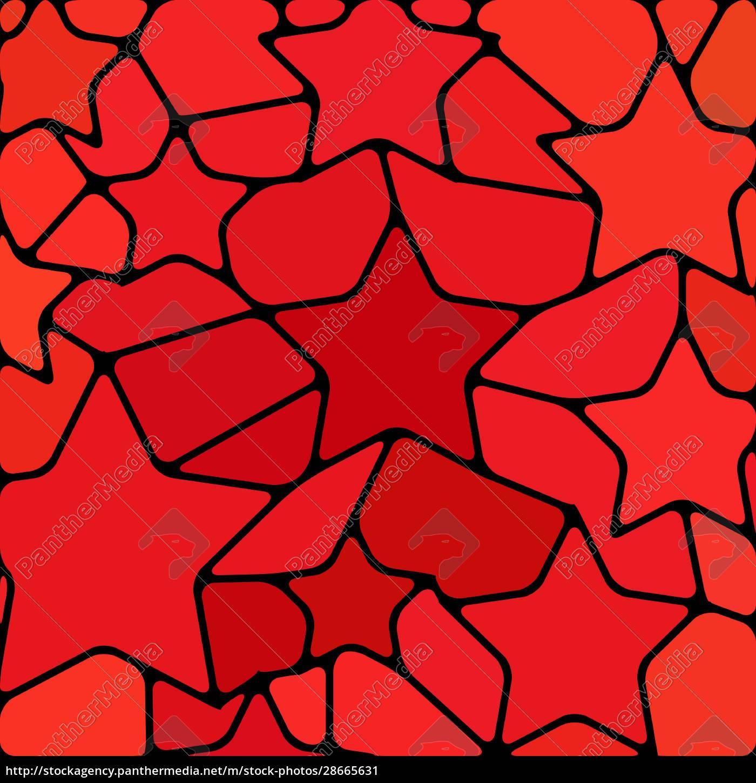 abstrakte, buntglas-mosaik, hintergrund - 28665631