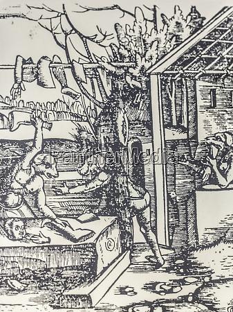 cinephalic kreaturen teilen menschliches fleisch 1535